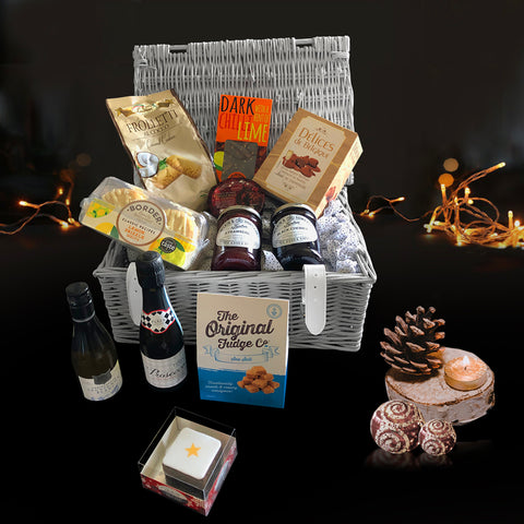 Image of The Silent Night Christmas Gift Basket.  A Perfect Holiday Gift.