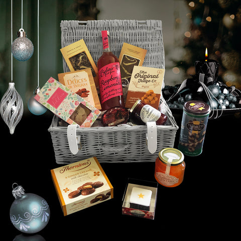 Image of The Jingle Bells Christmas Gift Basket.  Perfect for Christmas Gift Ideas.
