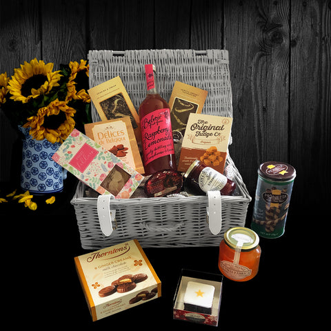 Image of The Sherwood Gift Basket.  A Perfect Luxury Gift Basket.