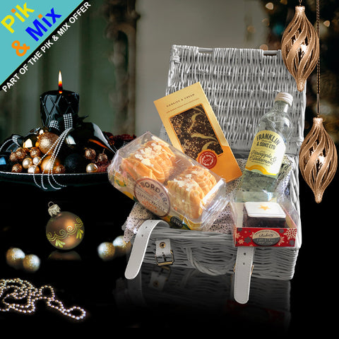 Image of The Trenton Gift Basket.  A Perfect Corporate Gift for Clients and Employees.