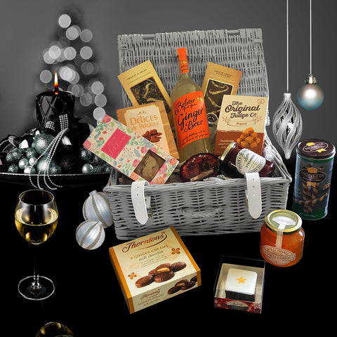 The First Noel Christmas Gift Basket.  A Perfect Christmas Holiday Gift Basket.
