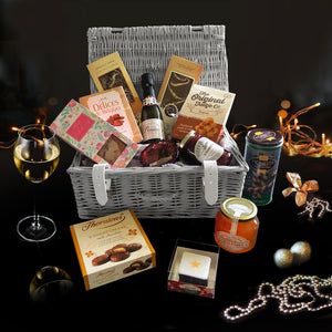 The Jolly Holiday Gift Basket.  A Perfect Christmas Gift Idea.