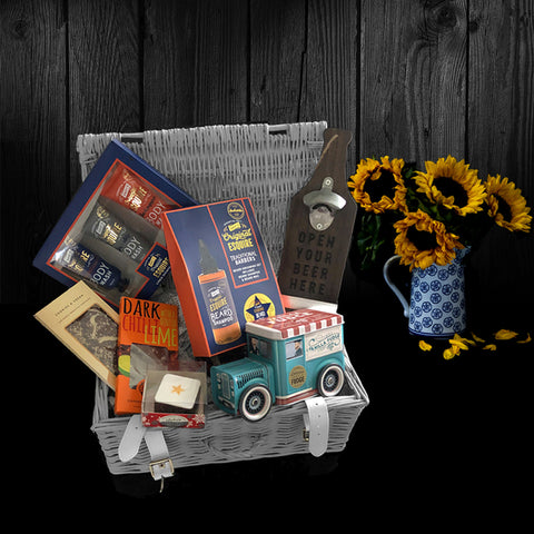 Image of The Ultimate Mens Gift Basket. Perfect Gifts for Men