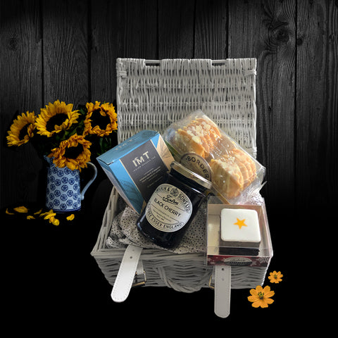 The Campton Gift Basket. A lovely Valentines Gift Basket.