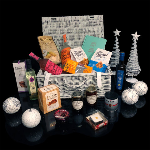 The Decadent Christmas Gift Basket. A Perfect Christmas Gift Idea.