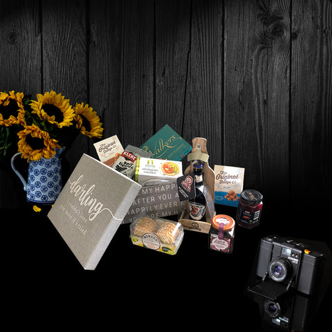 The Happily Ever After Gift Box. One of our perfect luxury gifts for men.