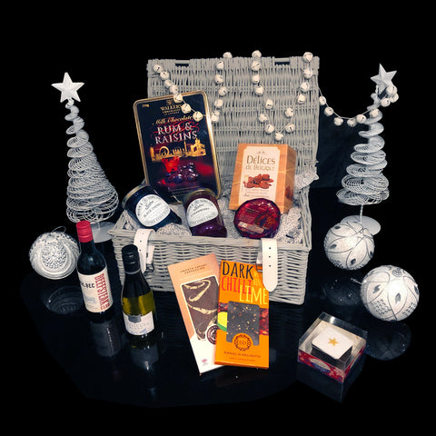 Image of The Festive Gift Basket. A Fabulous Holiday Gift.