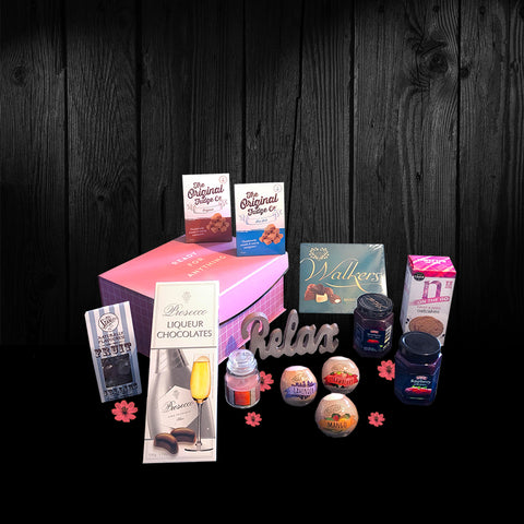 Image of The Ready for Anything Gift Box.  Ideal Birthday Gifts for Mom, wife or any special lady.