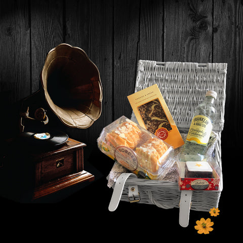Image of The One I Love Gift Basket.  Wonderful Valentines Day Gifts.