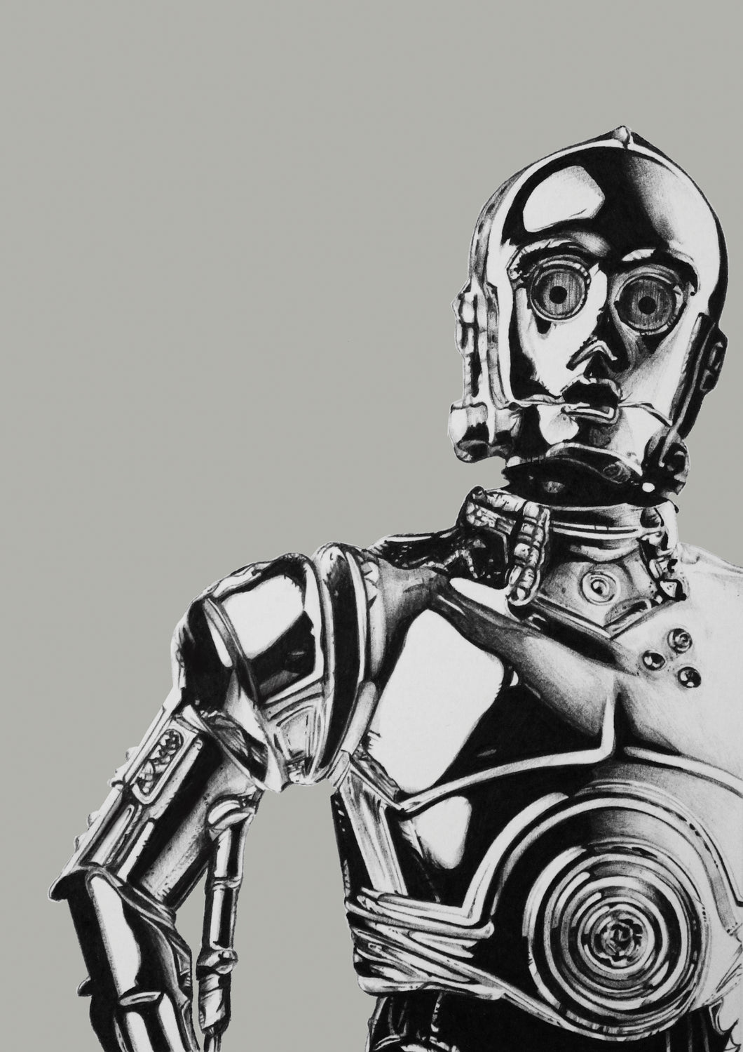 Star Wars: C3P0 (Light grey)