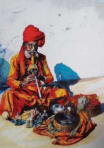 Original artwork: Snake Charmer