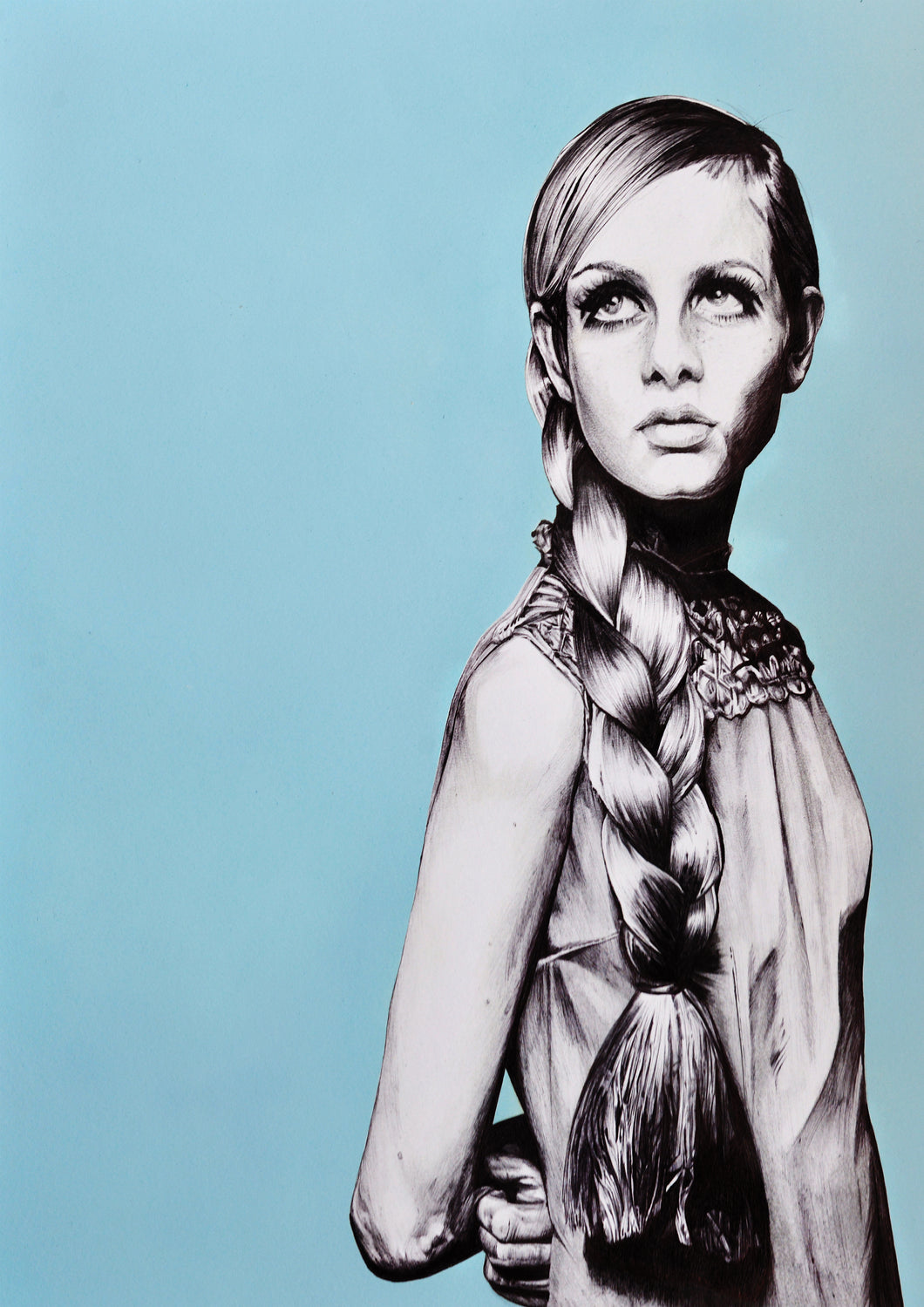 Original artwork: Twiggy