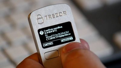 Trezor -  a secure vault for your bitcoins