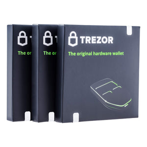 Trezor One Cryptocurrency Hardware Wallet White - Securely Stores Cryptocurrency Private Keys & Passwords. Quick & Easy to Use for Windows, macOS, Linux. Instructions & USB Cable Included.
