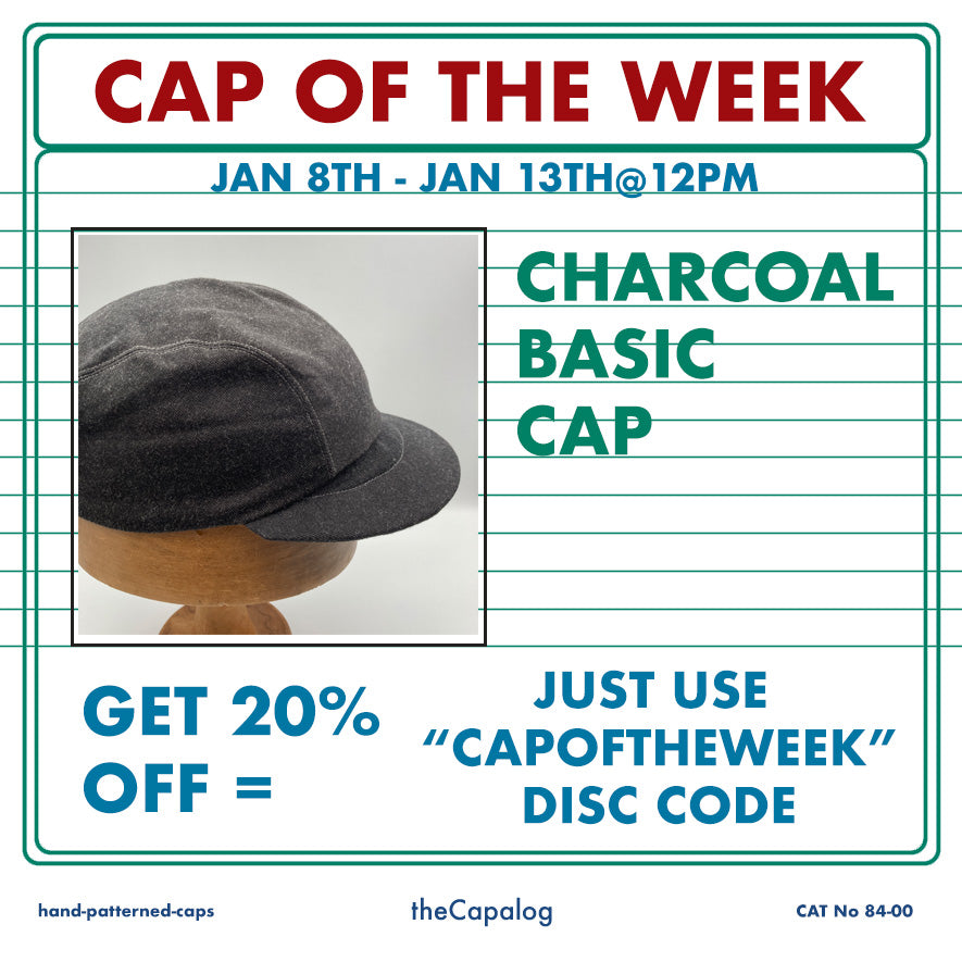 Cap of the Week - First of 2021 - Charcoal Basic