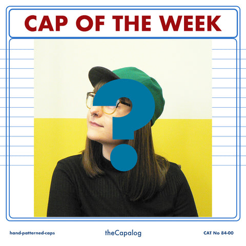 Cap of the week headshot with question mark
