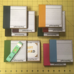Matchbox Style Giftcards for Bespoke Caps