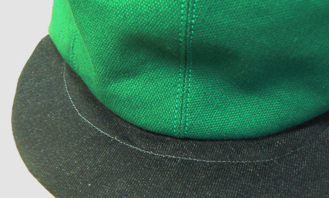 Green & Charcoal Basic Cap £35 inc p&p