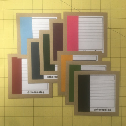 Classic card giftcard in nine colours