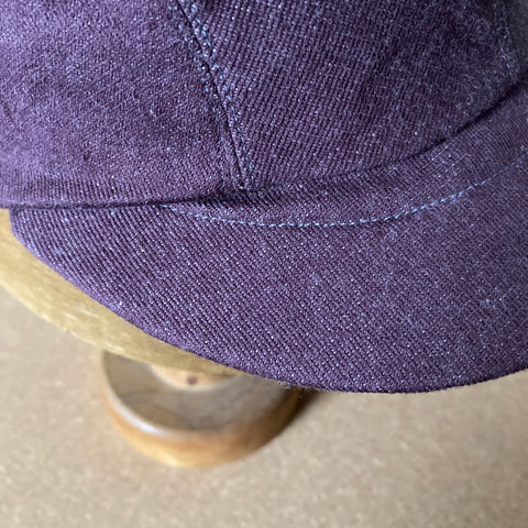 Plum Basic in Cap, bespoke made in 10 different colour & sizes £35 inc p&p