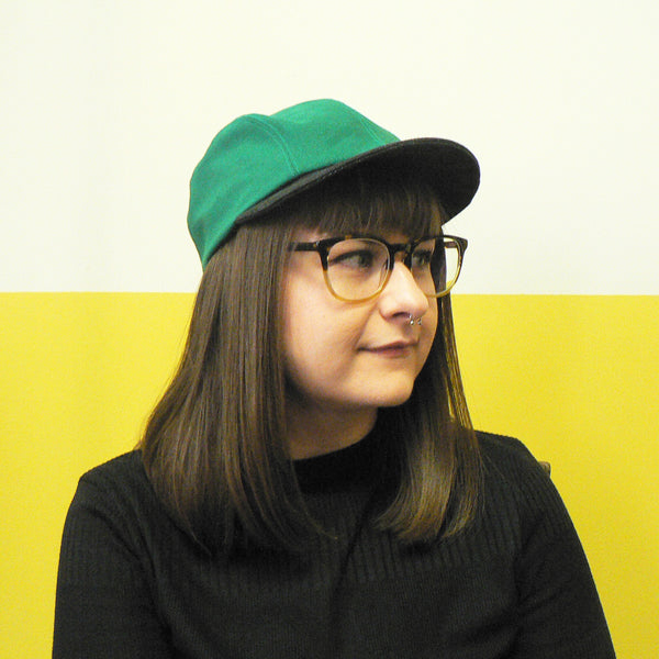 Green & Charcoal Basic Cap