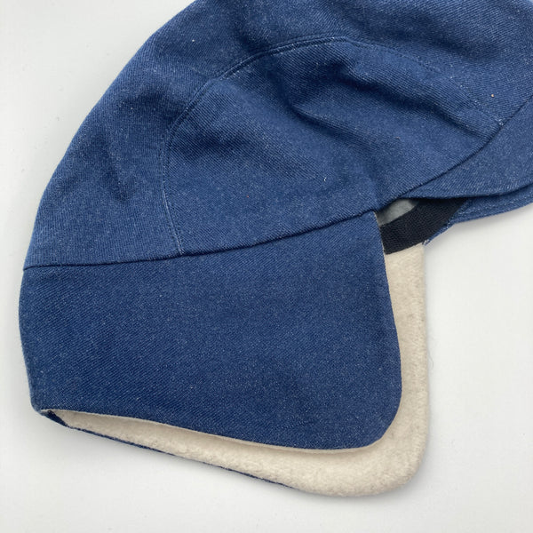 Classic Blue Denim Trapper Cap