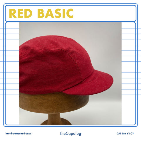 Red Basic Cap