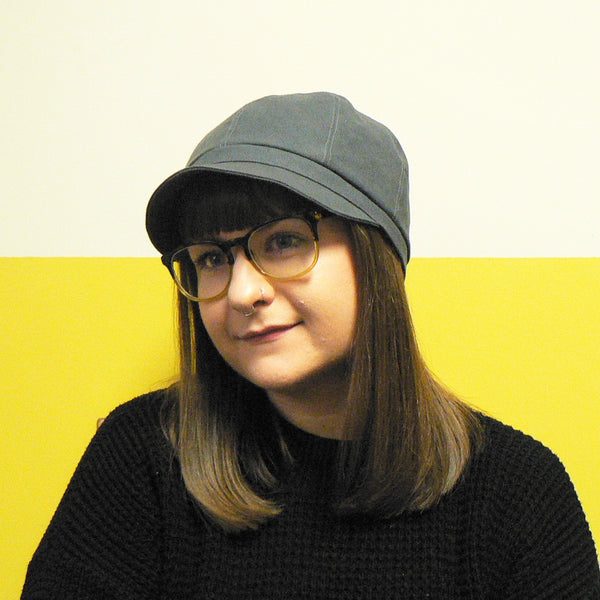 Slate Grey Cloche Cap