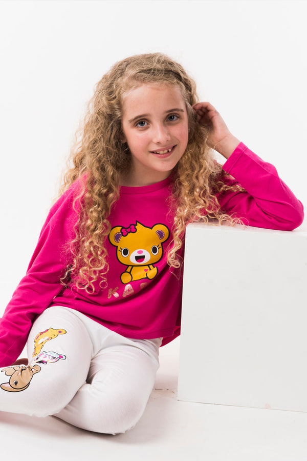 Bearnice Long Sleeve Tee - Build-A-Bear Apparel
