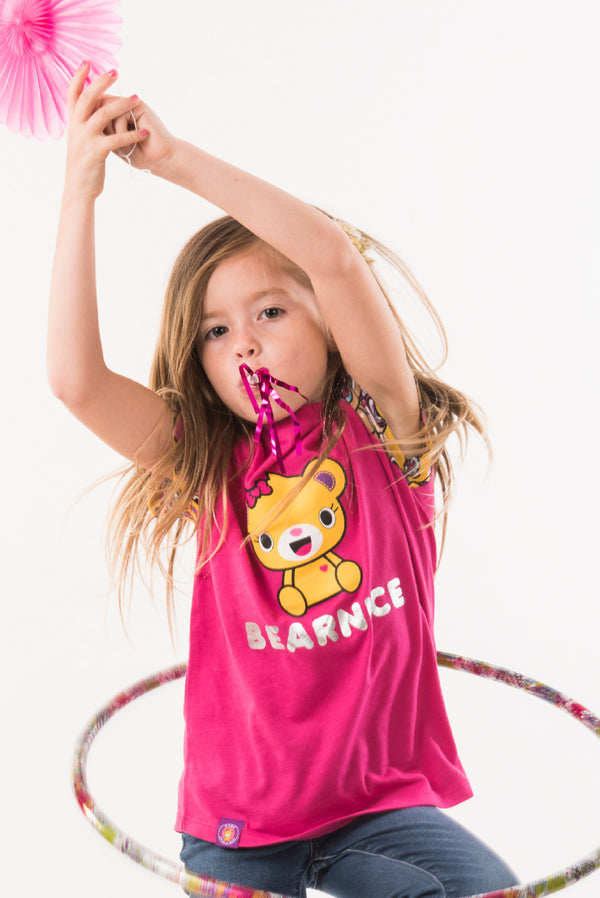 Bearnice Girls Club Tee - Build-A-Bear Apparel and The Kabu Crew