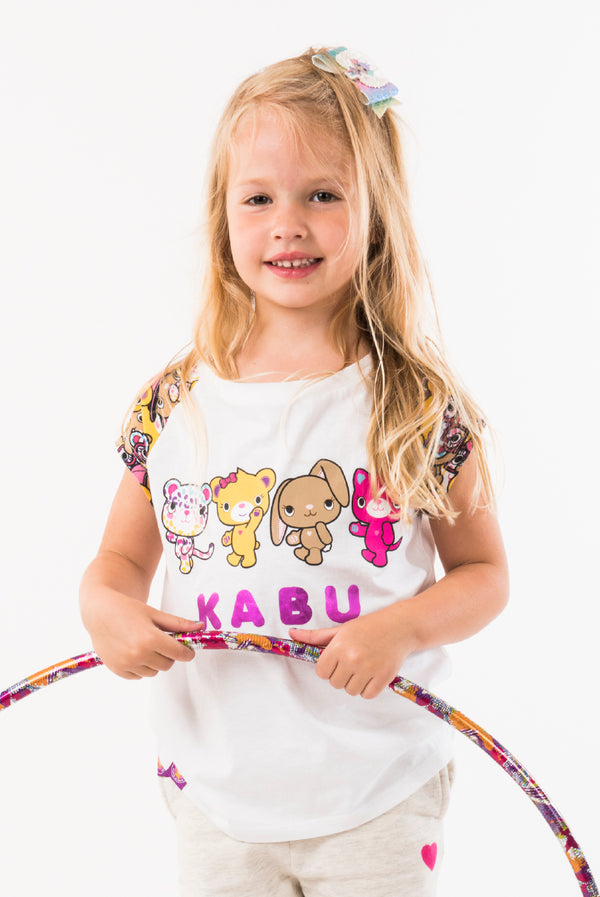 All The Girls Club Tee - Build-A-Bear Apparel and The Kabu Crew