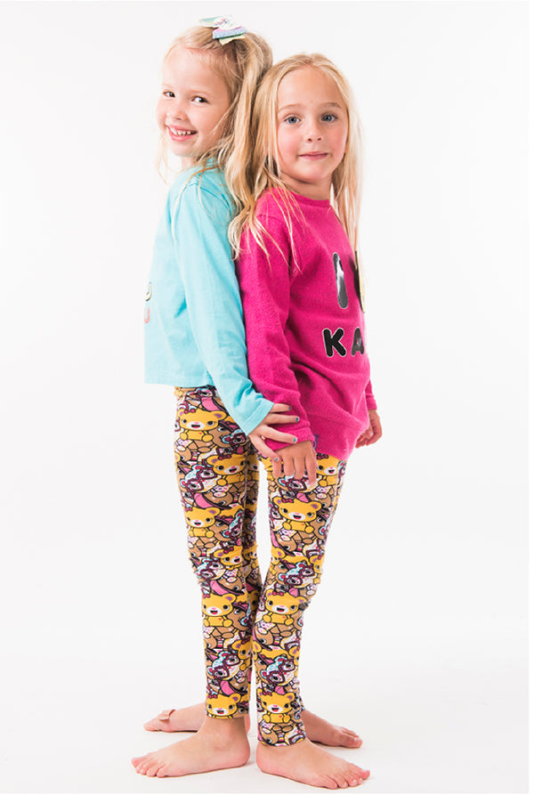 The Girls Club Leggings - Build-A-Bear Apparel and The Kabu Crew