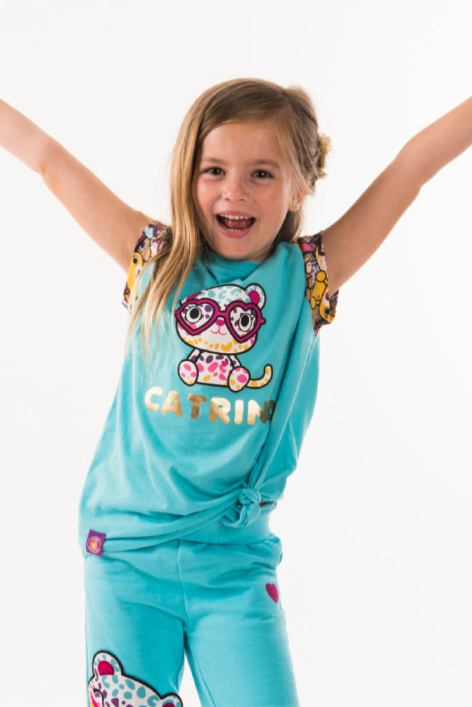 Catrina Girls Club Tee - Build-A-Bear Apparel and The Kabu Crew