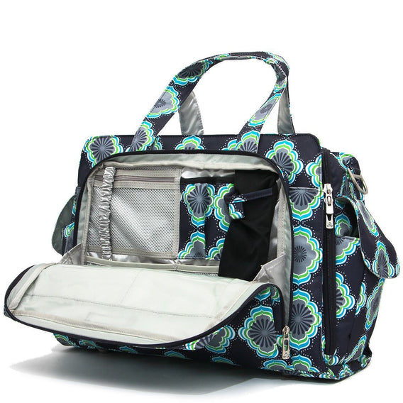 Be Prepared Diaper Bag - Moon Beam - Ju-Ju-Be