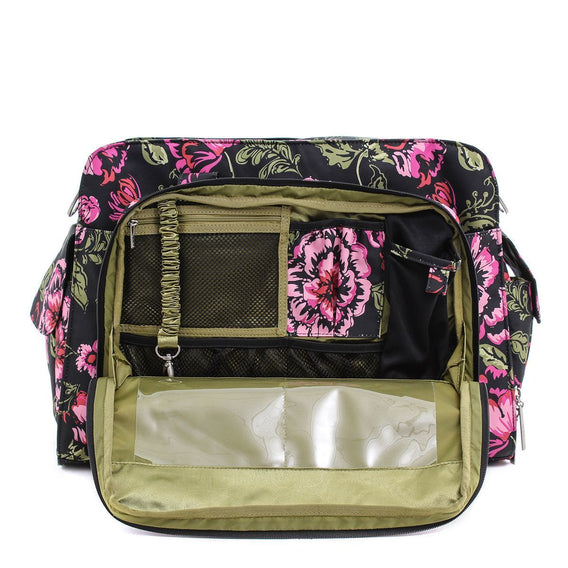 Be Prepared Diaper Bag - Blooming Romance - Ju-Ju-Be