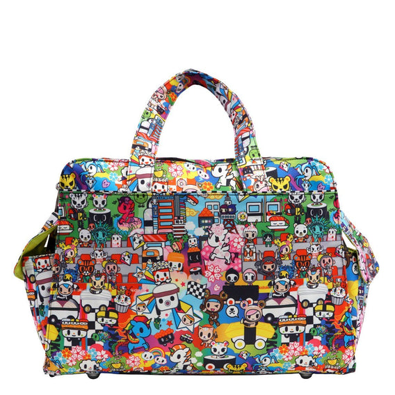 Be Prepared Tokidoki Diaper Bag - Sushi Cars - Ju-Ju-Be