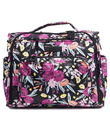 B.F.F. Diaper Bag - Black and Bloom - Ju-Ju-Be