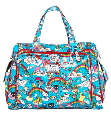 Be Prepared Diaper Bag - Rainbow Dreams - Ju-Ju-Be
