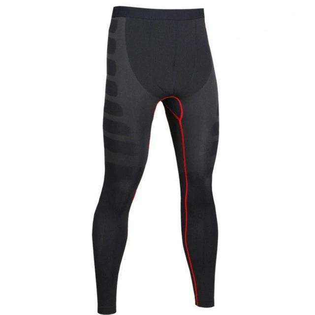 buy leggings with T-shirt long sleeve stretch fitness men