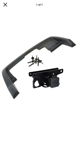 "Mopar 2"" Hitch w/ Bezel"