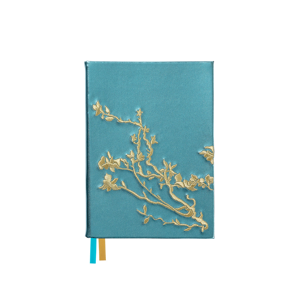 Embroidered notebook - Almond blossom - BIEN moves