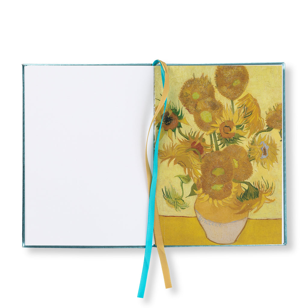 Embroidered notebook - Almond blossom