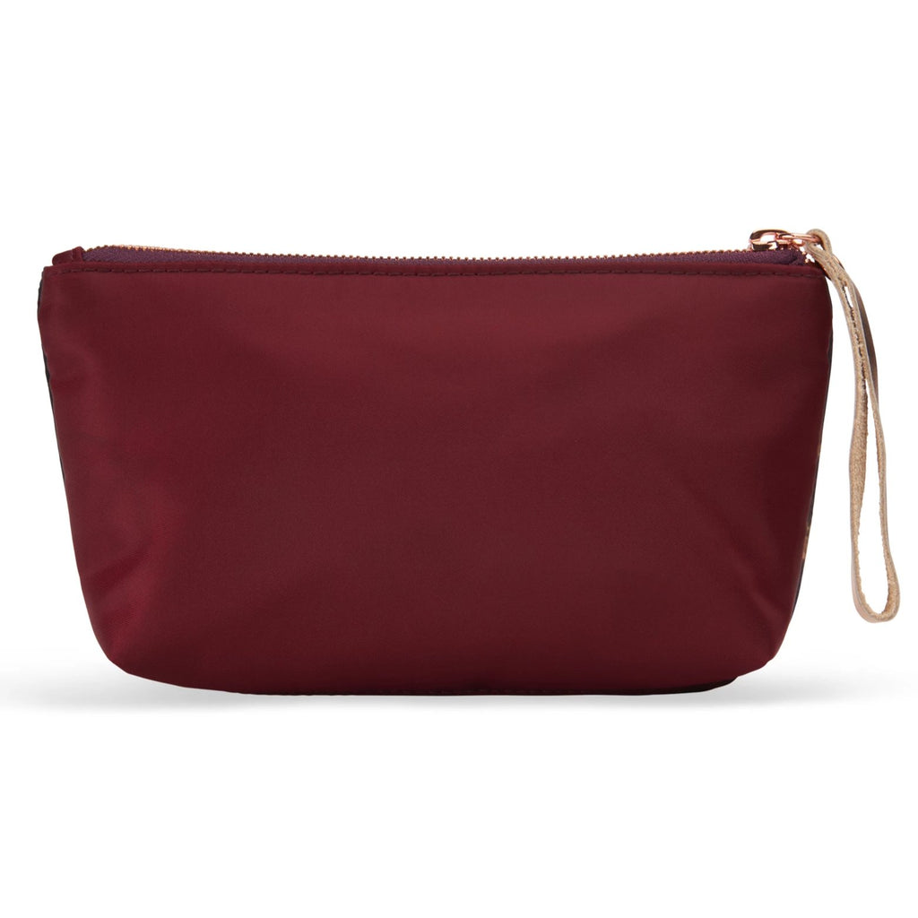 Velvet satin-nylon pouch - Flora - BIEN moves