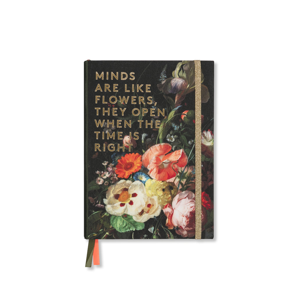Cotton notebook - Flowers - BIEN moves