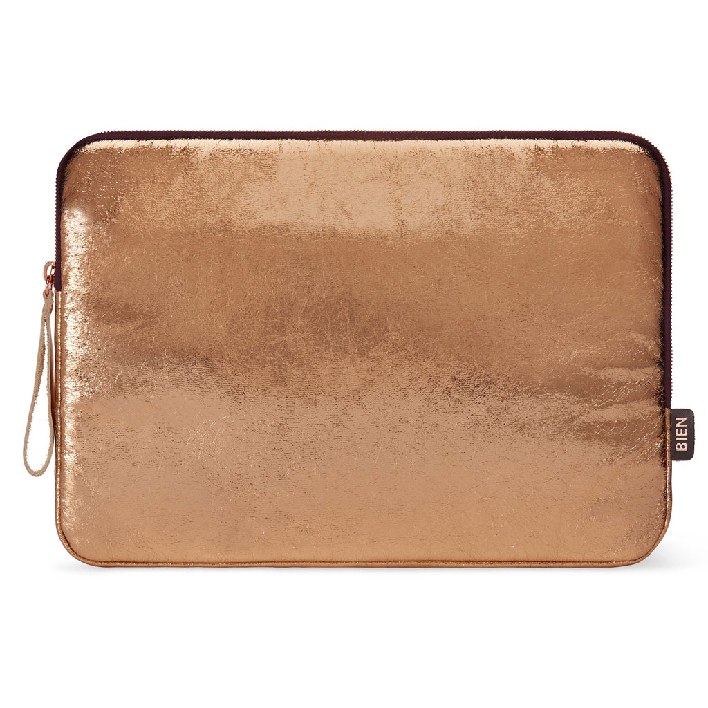 Laptop case 13-inch - Metallic rose gold - BIEN moves