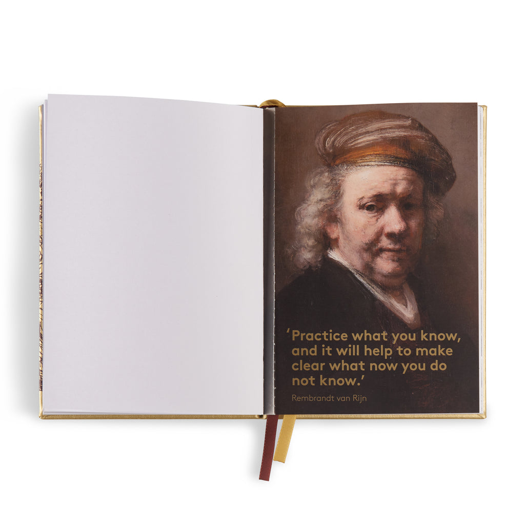 Printed synthetic leather notebook - Rembrandt van Rijn