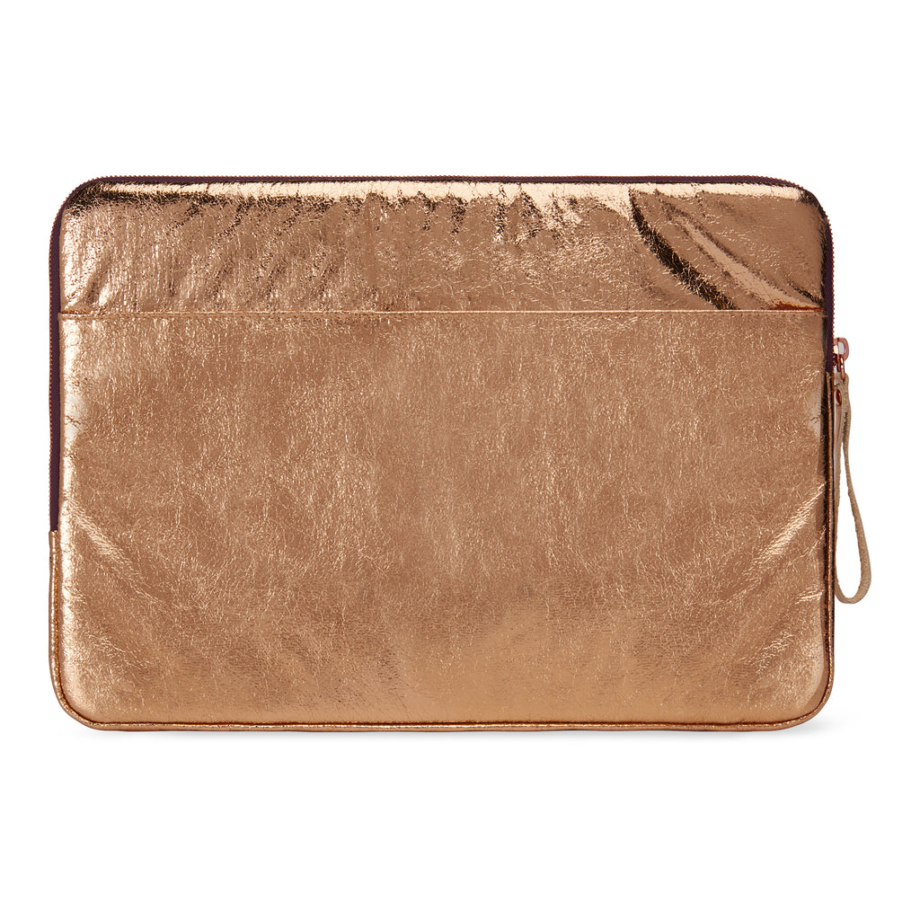 Laptop case 13-inch - Metallic rose gold