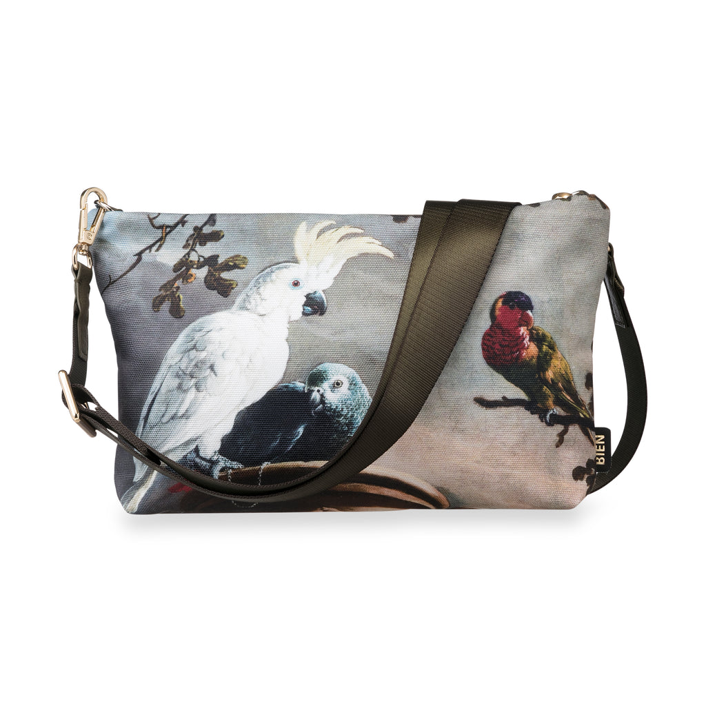 Cross Body bag - Cockatoo & birds - BIEN moves