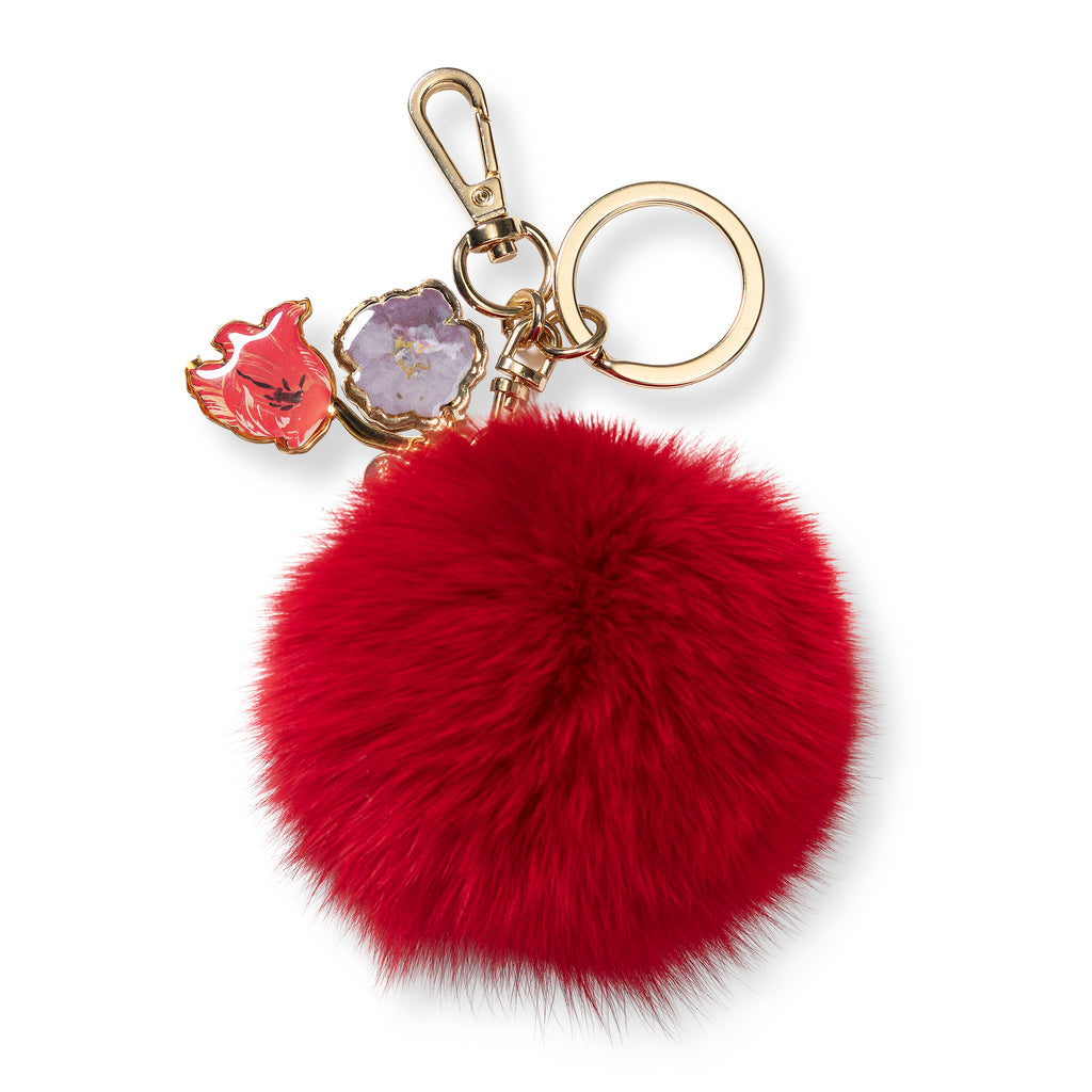 Keyring - Pompon flowers - BIEN moves