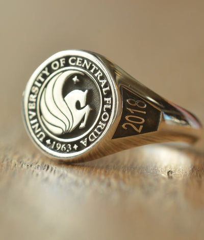 Personalized University of Central Florida Ring-Minimalist Designs